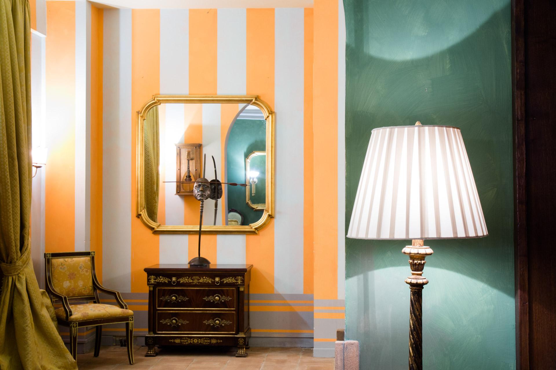 Corridoio dell'Hotel Bramante